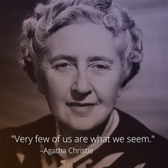 """Known as the """"Queen of Crime,"""" mystery writer Agatha Christie was born September 15, 1890. According to the Guinness Book of World Records, Christie is the second best-selling author of all time—the first is William Shakespeare.  Learn about the actual mystery in Christie's life, including her curious disappearance: https://curiosity.com/video/agatha-christie-a-life-of-mystery-bio/?utm_source=pinterest&utm_medium=social&utm_campaign=09%2F15%2F14pin #crimeauthor"""