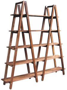 DIY Ladder Shelves | fortheutahbride