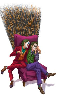 Read from the story Galería Joker by with reads. Joker Batman, Joker Y Harley Quinn, Joker Art, Dope Cartoon Art, Dope Cartoons, Dc Comics, Batman Comics, 1440x2560 Wallpaper, Der Joker