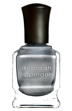 """Deborah Lippmann 'Luxe Chrome' Nail Color (Limited Edition) in 'Take the """"A"""" Train'"""