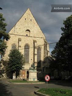 Dominican, Gothic style church from the century. 16th Century, Romania, Perfect Place, Condo, Vacation, Country, City, Building, Places