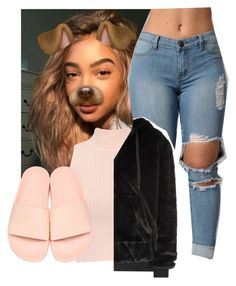 """""""wildin"""" by bbylex23 ❤ liked on Polyvore featuring WearAll, adidas Originals and Kendall + Kylie"""