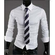 968ff0e650 Camisa Social Slim Fit Masculina Fabricação Pronta Entrega Modelos De  Roupas