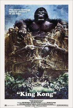 KING KONG by JOHN BERKEY - 1976.