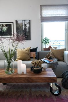 Scandinavian living room by Anna Mårselius