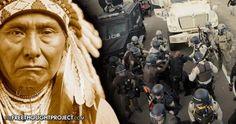 Yesterday on Thanksgiving: Native Americans Were Beaten, Gassed & Shot in North Dakota