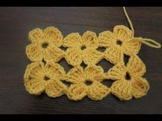 How to crochet The Daisy Stitch - YouTube ༺✿ƬⱤღ  http://www.pinterest.com/teretegui/✿༻