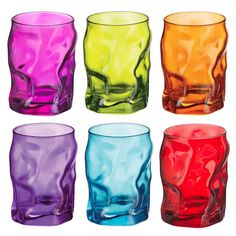 разноцветные_мятые_бокалы_купить.jpg (610×610)