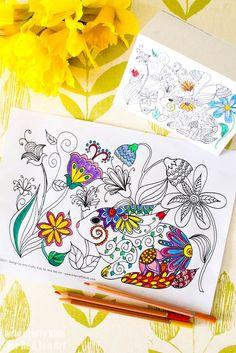 Spring Bunny Colorin