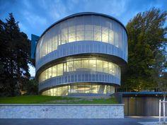 Helical Structure at Cocoon Office in Zurich, Switzerland by Camenzind Evolution