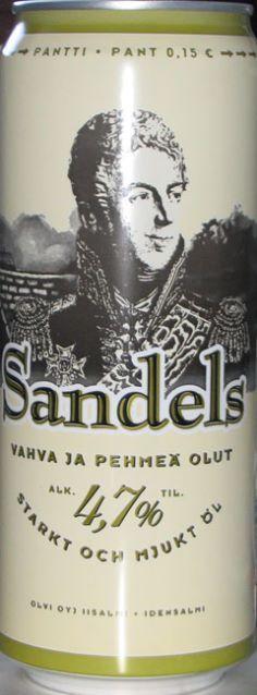 Sandels. Finnish Beer.