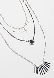 necklace set with black stone and tiny beads - maurices.com *Limited time only $10! On my wish list #wishpinwinsweepstakes #discovermaurices