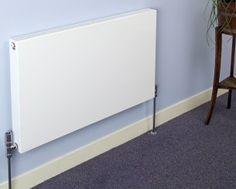 Slim convector radiator