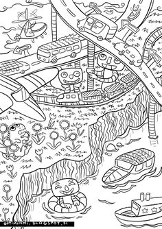 OPTIMIMMI: Free coloring book pages