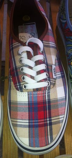 Tartan Tennis Shoes