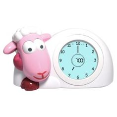 Buy Zazu Sam the Sheep Sleep Trainer Clock - Pink online and save! Sam the Sheep Sleeptrainer and Nightlight Is your child an early bird? Sam the Sleep Trainer can help you explain the grown-up idea of time to your c. Toddler Sleep, Kids Sleep, Baby Sleep, Sleep Help, Project Nursery, Nursery Decor, Light Alarm Clock, Clock For Kids, Stay In Bed