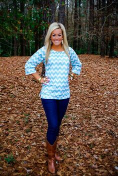 Chevron top<3