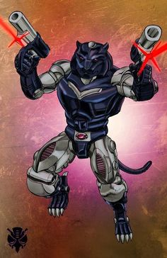 Beast Wars Ravage by Dan-the-artguy on DeviantArt
