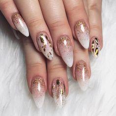"""""""New nails, new me ☄ @electanailart did the damn thing  #nikkietutorials"""""""