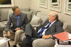Day 1 - #BehindTheScenes - Tom Horn and John Shorey relax together in the green room before the show!