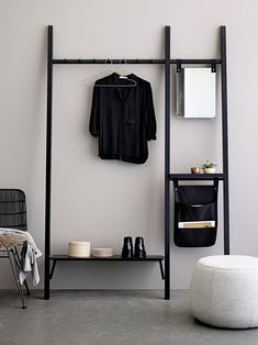 Find stores and webshops Mira storage rack ♥ Design by Bloomingville Espace Design, Clothes Drying Racks, Rack Design, Interior Inspiration, Bedroom Inspiration, Decor Room, Bedroom Decor, Furniture Design, House Design