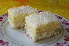 Csilla konyhája, mert enni jó!: Raffaello szelet Bananas, Pavlova, Cornbread, Vanilla Cake, Cheesecake, Food And Drink, Sweets, Cookies, Ethnic Recipes