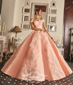 Pink Off the Shoulder Quinceanera Dress by Ragazza Fashion P17-7