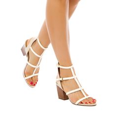 ShoeDazzle.com | Adelina by Report Signature in white $99.95