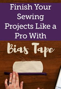 Using bias tape is a great way to finish off the edge of a project on anything from clothes to quilts. However it can be easy to miss an edge of the tape while stitching because it is a narrow strip of fabric and you can't see both sides while stitching. Stacy Grissom shows you a great technique to use to ensure that both side of the bias tape are secured to the fabric every time.