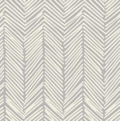 Freeform Arrows in cream on gray by domesticate, Spoonflower digitally printed fabric