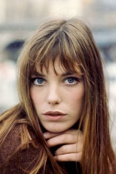 hair colors, hair makeup, hairmakeup inspo, style icons, bangs, makeup looks, beauty, 60s hair, jane birkin