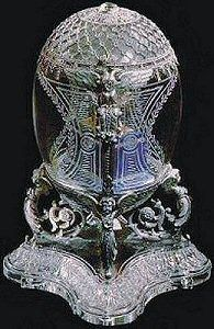 The 37th Imperial Egg ~ 1910 Alexander III Equestrian Egg ~ Kremlin Armoury Museum, Moscow
