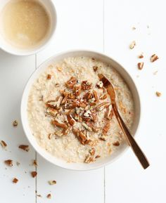 Happy Foods, No Calorie Foods, Oatmeal Recipes, Vegan, Carrot Cake, Food Inspiration, Breakfast Recipes, Good Food, Food And Drink