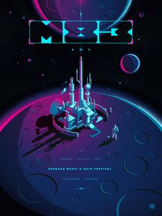 Mind blowing posters – Muzli -Design Inspiration