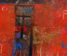 Doorway – Trevelez c.1992 by Barbara Rae (b.1943) Abstract Painters, Abstract Landscape, Abstract Art, Barbara Rae, Contemporary Art Artists, Glasgow School Of Art, Art Society, Art Uk, City Art