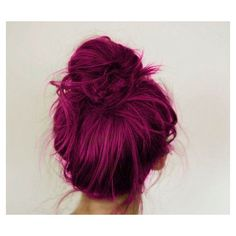 Magenta Hair Chalk Large Salon Grade Stick Temporary Hair Color ❤ liked on Polyvore featuring beauty products, haircare, hair color, hair, cabelos, hairstyles, hair styles and beauty