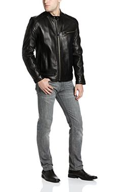 bde029d80fd03 Marc New York by Andrew Marc Men s Sutton Leather Jacket