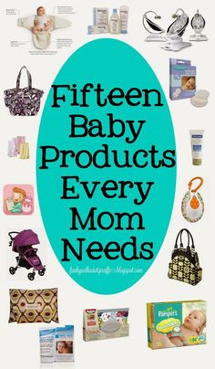 The Best Baby Products Every Mom Needs! #baby