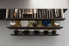 Enjoy quick and easy access to kitchen drawer contents with this clever independent drawer storage system.