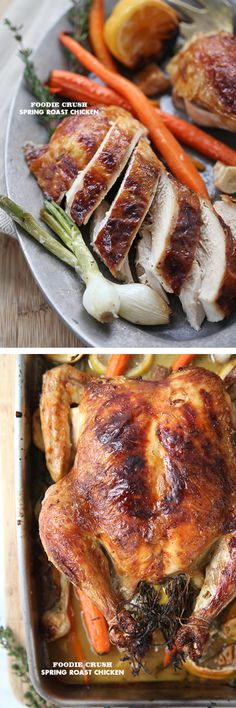 5 tips for the juiciest roast chicken #recipe | foodiecrush.com