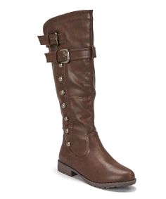 Brown Studded Boot: Love it