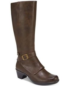 Easy Street Jan Riding Boots - Brown 7.5WW