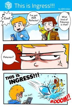 Not Pokemon  #ingressmemes #memes