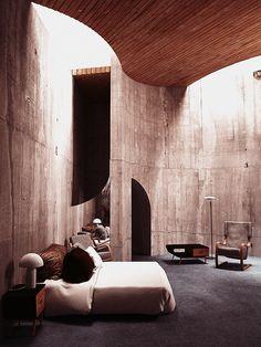John Lautner | Segel House | 1979 | Pacific Coast Highway, Malibu Furniture…
