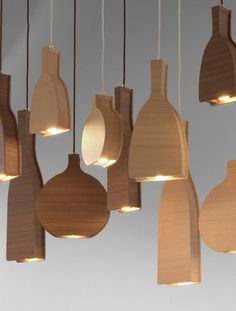 Column and Magnus by Channels #wood #lamp