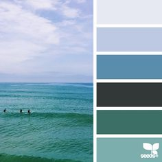 today's inspiration image for { horizon hues } is by @lizlangley ... what a mental vacation + i love the fresh tones inspired by Liz's awesome photo ... thank you for another fantastic #SeedsColor image share, Liz!