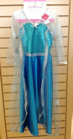 Sequin Elsa-Inspired Gown!