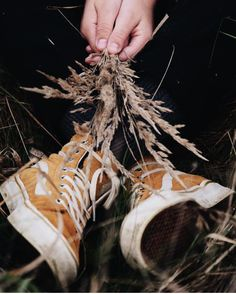 Falling for Fall. # You're It: Five of our favorite #VansGirls photos from IG last week.  biblaaa in the Amber Scotchguard Sk8-Hi Slim.