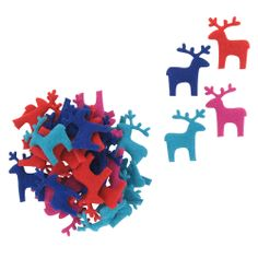 felt deer table scatter - pack of 36 from Paperchase