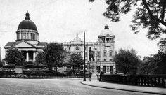 Old photograph of Aberdeen, Scotland
